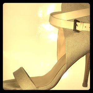 Joe's Jeans Ankle wrap heels